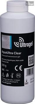 AquaUltra Clear 500ml-es színtelen ultrahang gél