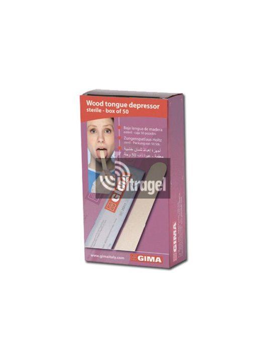 Fa nyelvlapoc - steril (50db/doboz)