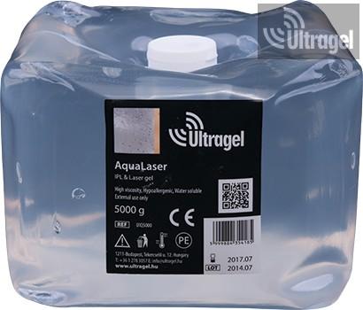 Aqualaser IPL & Laser gel 5000ml - lágy ballonban