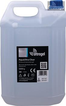 AquaUltra Clear 5000ml-es ultrahang gél kannában