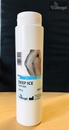 Deep Ice izomlazító sport gél 260 gr.- Flip-Top kupakkal