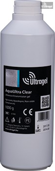 AquaUltra Clear 1000ml-es ultrahang gél
