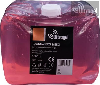 Conti EKG gél 5000ml - lágy ballonban