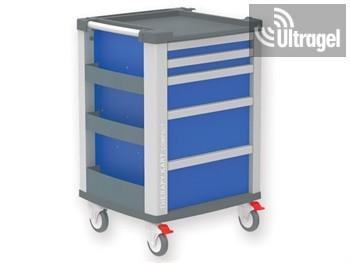 Sürgősségi kocsi Compact Kart - kék