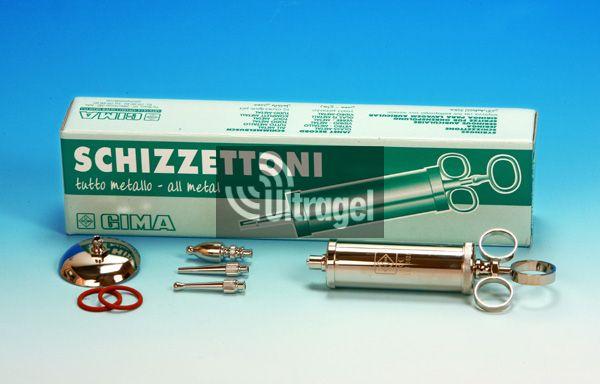 Schimmelbusch fecskendő - teljesen fém, több méretben