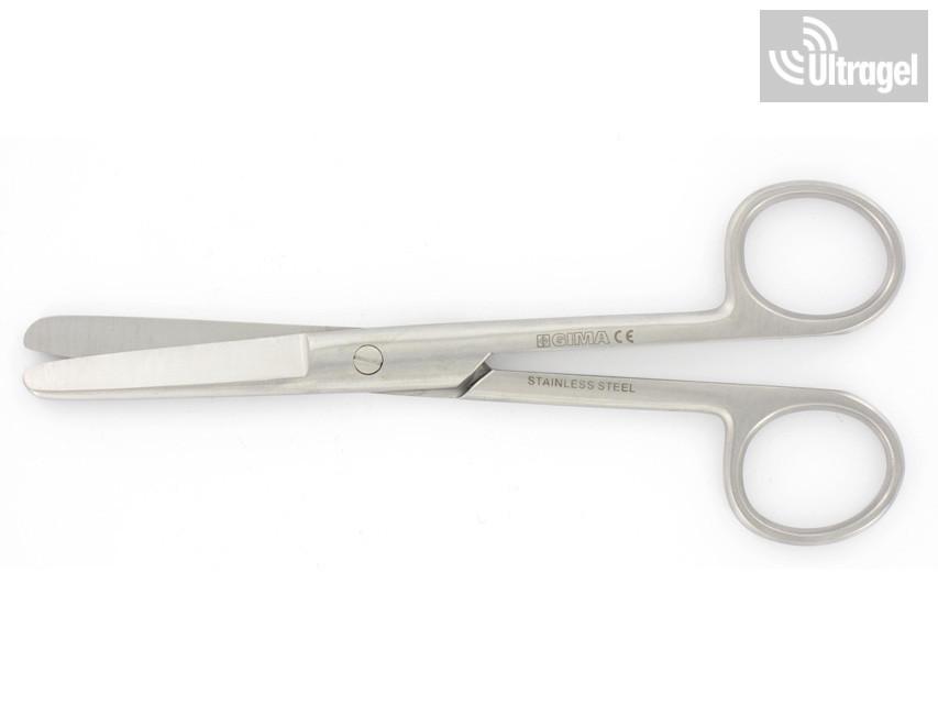 Sebészeti olló - egyenes - tompa/tompa - 20 cm