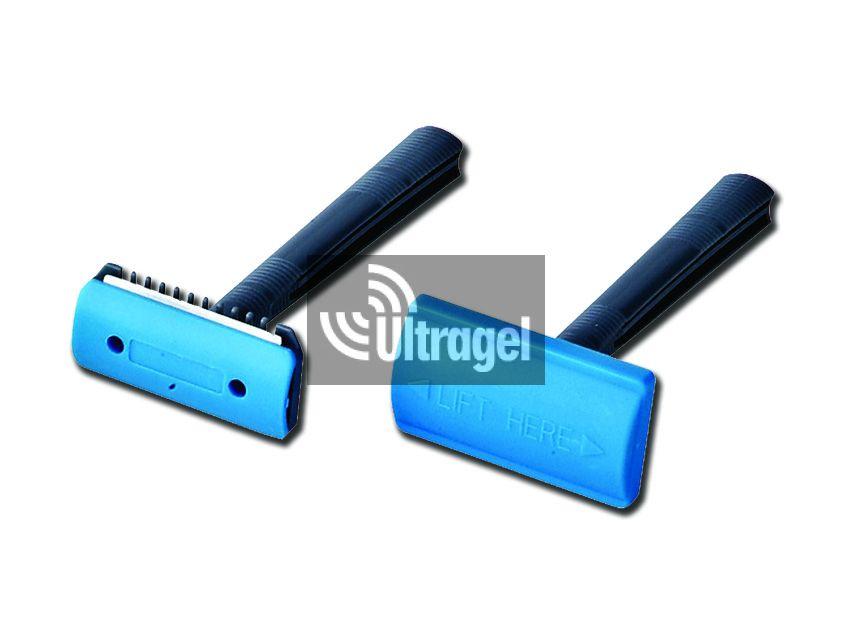 Sebészeti borotva - szimpla pengés fésűvel (50db/doboz)