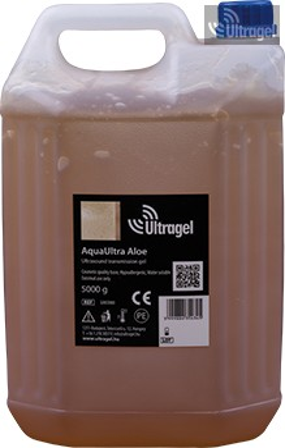 AquaUltra Aloe 5000ml-es ultrahang gél kannában