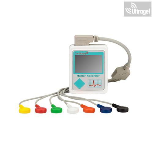 EC-3H 3 csatornás Holter EKG Rekorder: