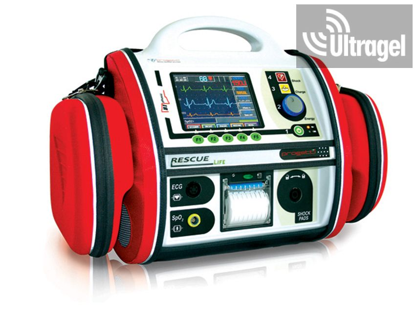 RESCUE LIFE AED DEFIBRILLÁTOR PACEMAKER-rel