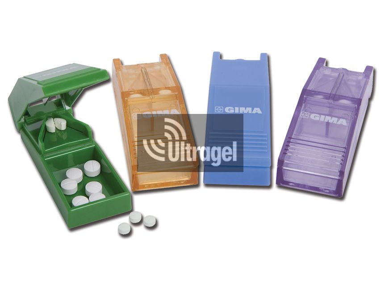 Gyógyszerfelező, különböző színekben, kijelző boksz (12db/doboz)