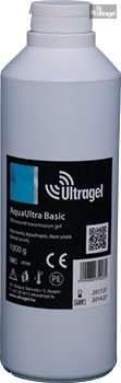AquaUltra Basic 1000ml-es ultrahang gél