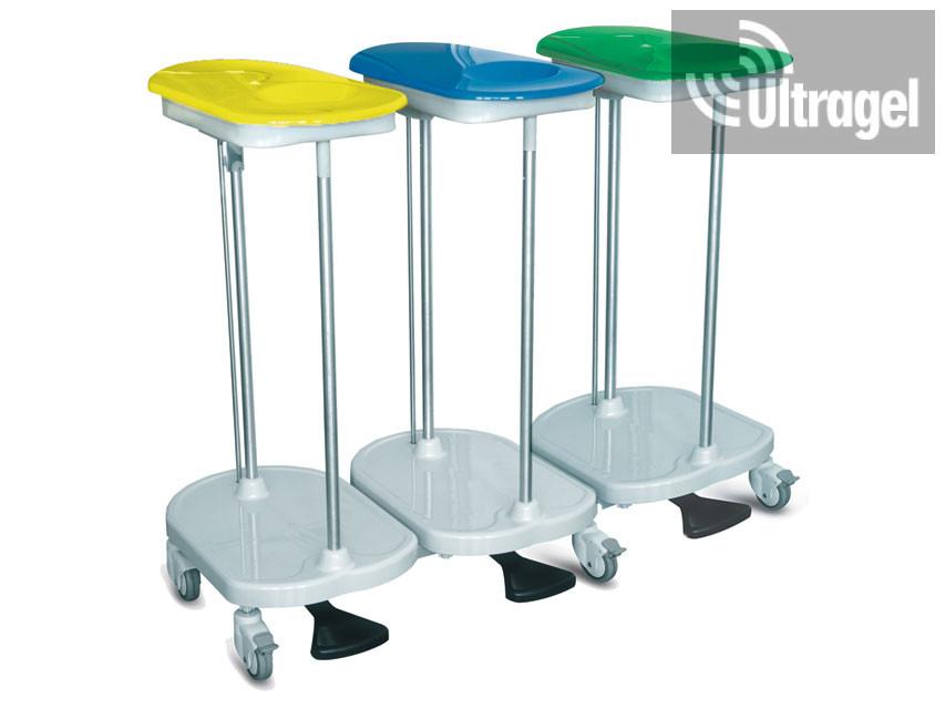 Ágyazó kocsi- lábbal működtethető- 3 zsákos