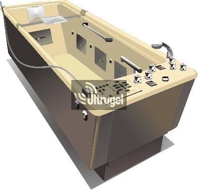 Hidro-és balneoterápiás készülékek