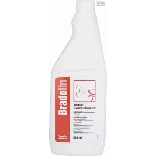 BradoLin 500ml szórófejes felületfertőtlenítő - UG136391
