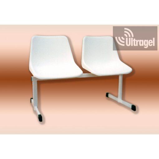Várótermi pad 2 üléses (Gabi ülőkés)