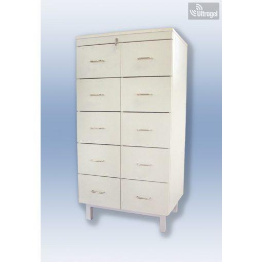 Kartontároló szekrény fém 5 fiókos - UG398361