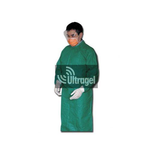Köpeny, egyszerhasználatos - steril - egységes méret (50db/doboz)
