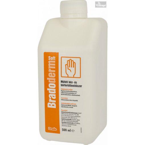 BradoMan Soft - higiénés kézfertőtlenítő - kétféle kiszerelésben - UG800611