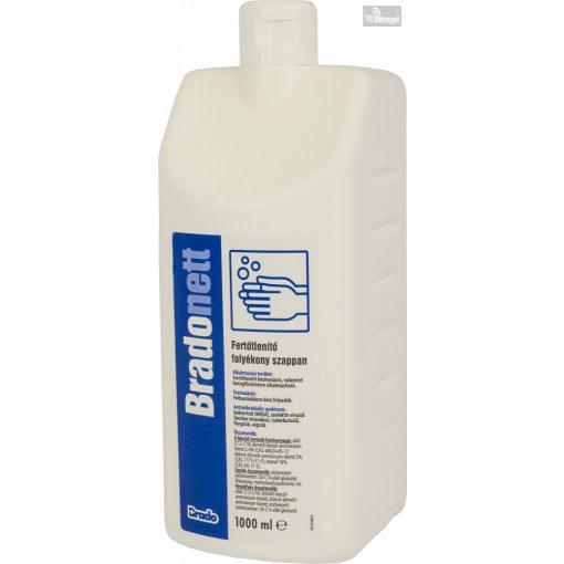BradoNETT - fertőtlenítő folyékony szappan - több méretben - UG961942