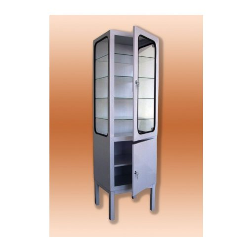 Fém műszerszekrény-  1-1 ajtós